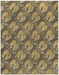Feizy Leafscape 7275F Charcoal Closeout Area Rug