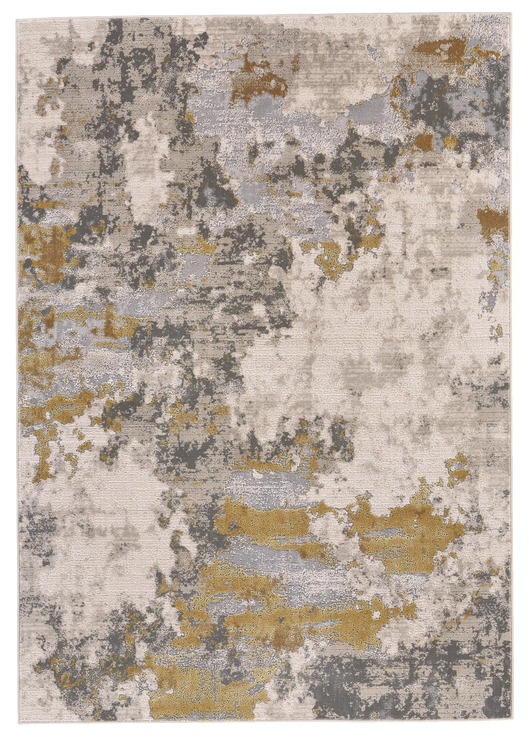 Feizy Waldor 3970F GOLD/BIRCH Area Rug