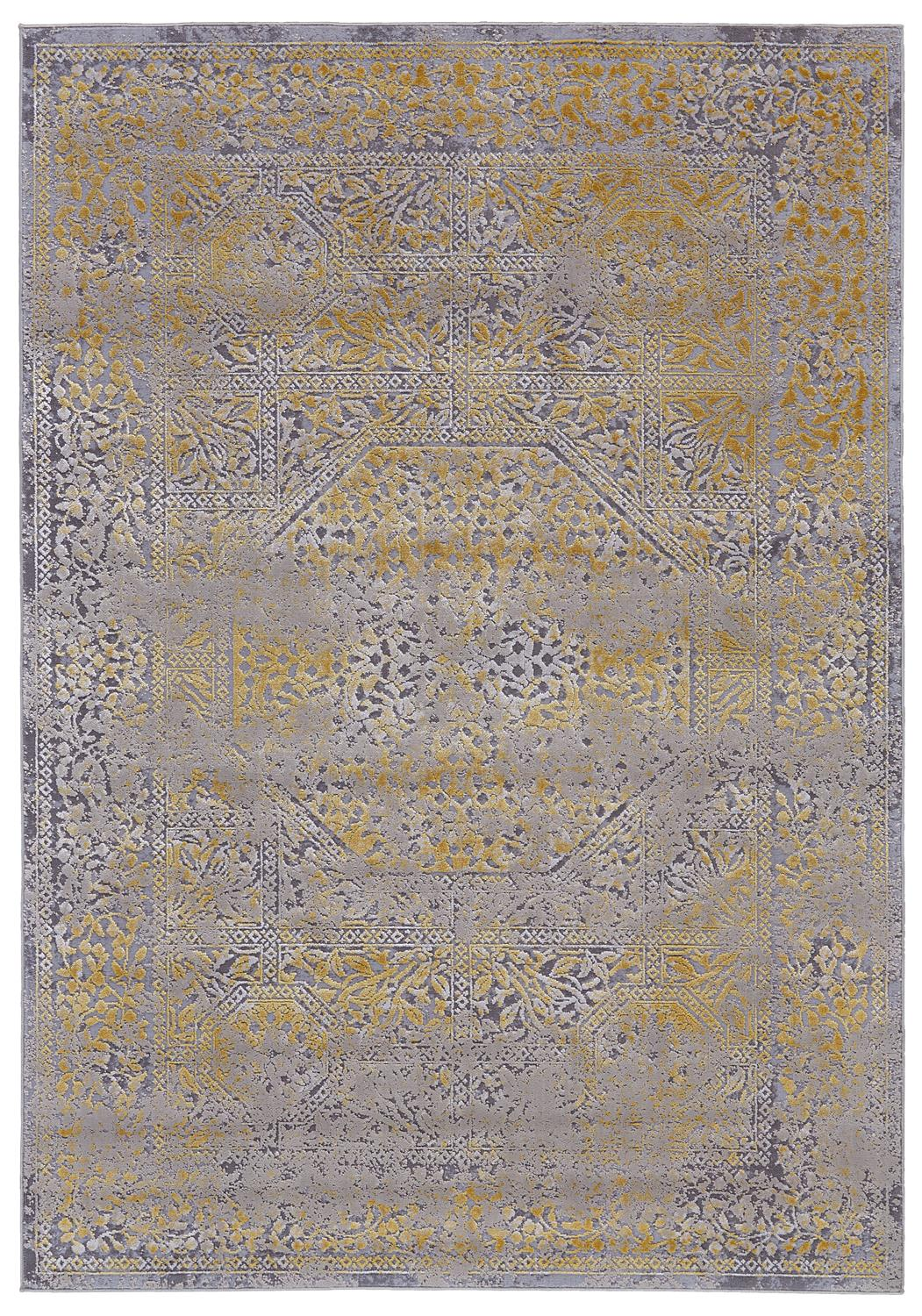 Feizy Waldor 3971F GOLD/SAND Area Rug