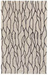 Feizy Enzo 8734F BLACK/TAUPE Area Rug