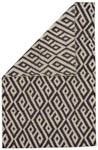 Feizy Leon 0118F BLACK/WHITE Closeout Area Rug