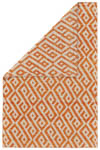 Feizy Leon 0118F ORANGE/NATURAL Closeout Area Rug