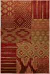 Karastan Carmel 74700-13122 Cypress Point Crimson Closeout Area Rug