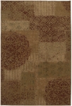 Karastan Carmel 74700-13136 Pine Hill Red Closeout Area Rug