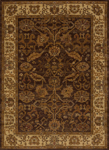 United Weavers Affinity 750 01150 Persian Canvas Brown Closeout Area Rug
