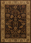 United Weavers Affinity 750 01170 Persian Canvas Black Closeout Area Rug