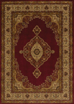 United Weavers Affinity 750 01230 Pervana Red Area Rug