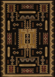 United Weavers Affinity 750 01870 Coltan Black Area Rug