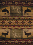 United Weavers Affinity 750 03843 Hunter's Dream Area Rug