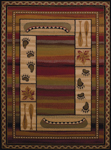 United Weavers Affinity 750 04043 Canoe Sunset Area Rug