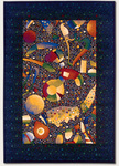 Couristan Metropolis 7508/8257 Oceanic/Midnight Blue Closeout Area Rug