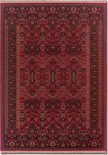 Couristan Kashimar 7686 1893 Kerman Vase Brick Red