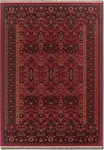 Couristan Kashimar 7686/1893 Kerman Vase Brick Red Closeout Area Rug - Spring 2015