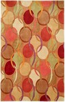 HRI South Beach 7741A Beige Closeout Area Rug