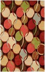HRI South Beach 7741B Brown Closeout Area Rug