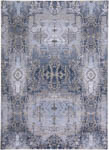 Feizy Gaspar 3834F LIGHT BLUE/STERLING Area Rug
