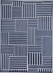 Feizy Gaspar 3836F NAVY/GRAY Closeout Area Rug