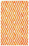 Feizy Garcia 8756F ORANGE Closeout Area Rug