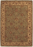 Couristan Orissa 8001/1122 Antique Ispaghan Sage/Camel Closeout Area Rug - Spring 2013