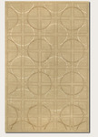 Couristan Impressions 8084/0004 Telescope Beige/Ivory Closeout Area Rug