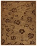 Feizy Tingtang 8157F Milk Chocolate Closeout Area Rug