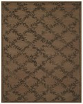 Feizy Tingtang 8158F Chocolate Closeout Area Rug