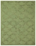 Feizy Tingtang 8158F Green Closeout Area Rug