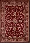 Couristan Odessa 8160/4010 Capulet Red/Ivory Closeout Area Rug - Spring 2015