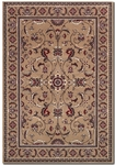 Couristan Odessa 8160/4011 Capulet Mocha/Red Closeout Area Rug - Spring 2015