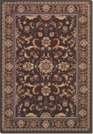 Couristan Odessa 8160/4013 Capulet Stone/Red Closeout Area Rug - Spring 2015