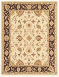 Feizy Salinas 8176F Cream/Dark Charcoal Closeout Area Rug