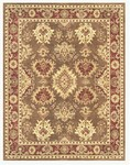 Feizy Salinas 8177F Light Chocolate/Dark Rust Closeout Area Rug