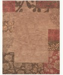 Feizy Mantra 8190F Light Chocolate Closeout Area Rug