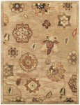 Feizy Mantra 8191F Dark Beige Closeout Area Rug