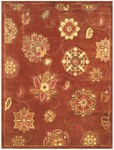Feizy Mantra 8191F Red Closeout Area Rug