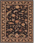 Feizy Yale 8236F Black Closeout Area Rug