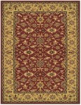 Feizy Magellan 8271F Red/Light Gold Closeout Area Rug