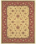 Feizy Magellan 8274F Light Gold/Burgundy Closeout Area Rug