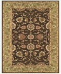 Feizy Magellan 8275F Dark Brown/Green Closeout Area Rug