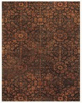 Feizy Montmartre 8296F Brown/Rust Closeout Area Rug