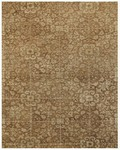 Feizy Montmartre 8296F Dark Gold/Light Gold Closeout Area Rug