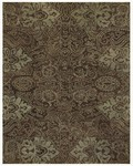 Feizy Montmartre 8297F Brown/Light Green Closeout Area Rug