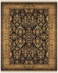Feizy Amore 8327F Black Gold Area Rug