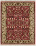 Feizy Amore 8327F Red Light Gold Area Rug