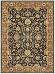 Feizy Yale 8336F Black/Brown Closeout Area Rug