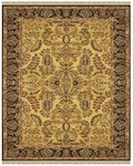 Feizy Amore 8492F Gold Black Closeout Area Rug