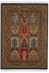 Couristan Gem 8502/2213 Antique Nain Black Closeout Area Rug - Spring 2011