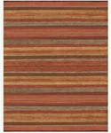 Feizy Contour 8551F Rust Closeout Area Rug