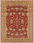 Feizy Natasha 8582F Red/Sage Closeout Area Rug