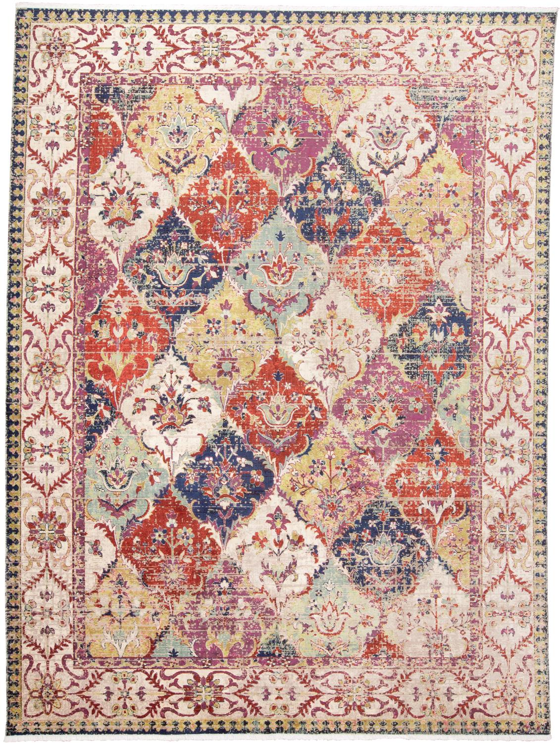 Feizy Torina 3882F RED/MULTI Area Rug